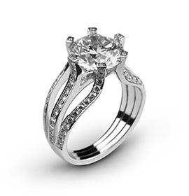 La bague de fiançaille, symbole du mariage